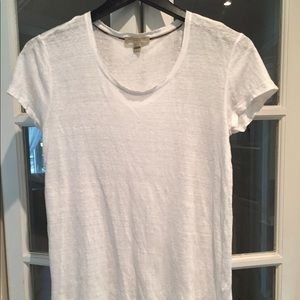 Burberry Brit white t-shirt. Size small